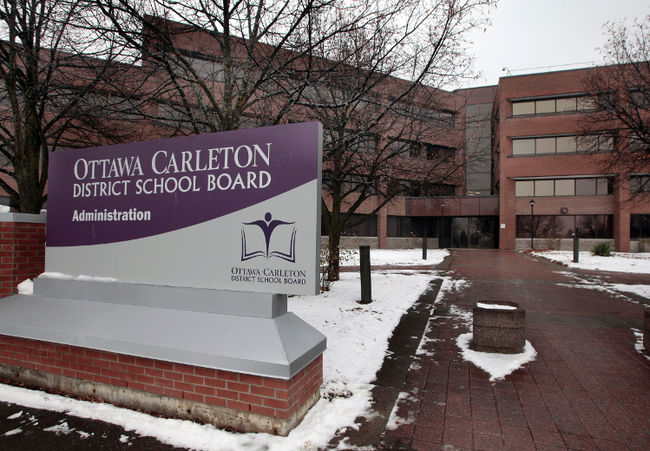 OTTAWA - CARLETON DISTRICT SCHOOL BOARD
